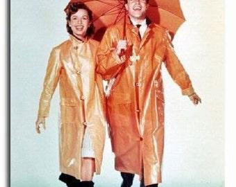 Debbie Reynolds Singin In The Rain Color Rare 8x10 Photograph