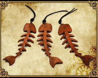 Mayol tricorn Hat accessory fish fish bone skeleton pirate hat accessory