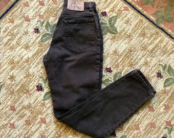 VTG 90s Calvin Klein Brown High Waisted DENIM Pants