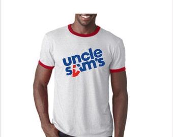 Uncle Sam's night club retro Tshirt ~ Hull Ma