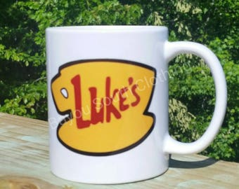 Gilmore Girls Mug, Luke's Diner Mug, Gilmore Girls Coffee Mug, Luke's Diner Coffee Mug