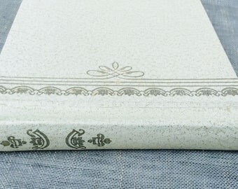 Vintage Photo Album,Wedding Pictures,White Photo Album,Picture Book,5 x 5 Photo Album