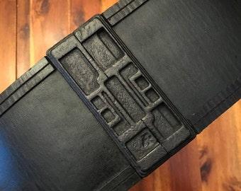 "TFA Kylo Ren Inspired Belt, Buckle & Lightsaber Clip (Build a belt!) - Film Accurate 4.5"""