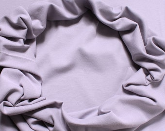 0.5 meter fabric wristband cotton elastane Interlock jersey lilac tube cbc GOTS C. Pauli