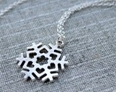 Snowflake Necklace, for t...