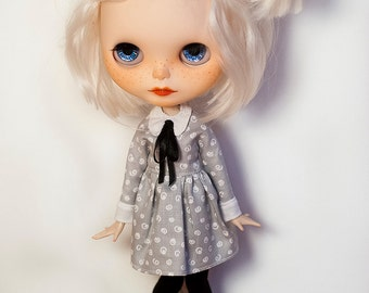 Elegant blythe clothes set  (blythe dress and leggings)