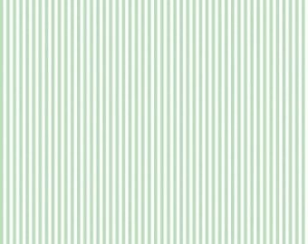 "1/2 Yard Riley Blake Basic Stripes 1/8"" - 495 Sweet Mint"