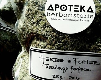 Weed smoking ~ support to Detox from cigarettes ~ Coltsfoot (Tussilago farfara) ~ smoke blend
