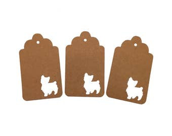 Yorkie Gift Tags
