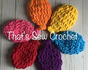 Crochet Water Balloons Set of 6