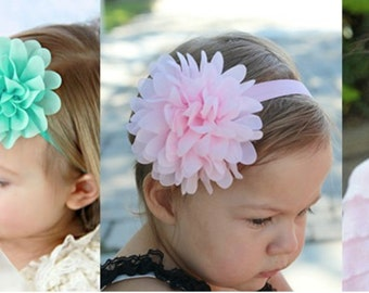 Baby Headband, Flower headband for babies,
