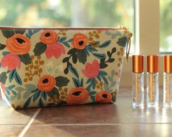 Essential Oil Bag, Essential Oil Case, Tassel Bag, Bag for Essential Oil Storage