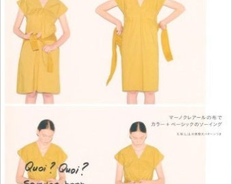 Daily style for woman - Japanese pattern book