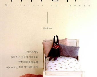 New book : Doll house miniature - Korean craft book