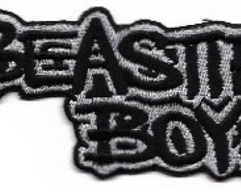 Beastie Boys Logo Embroidered Patch Iron On Applique