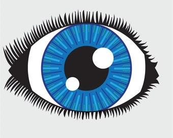 Eye Digital Print