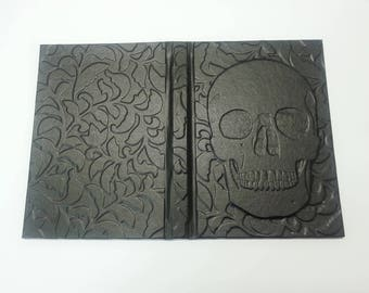 Floral Skull notebook-Memento mori