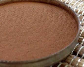 Matte Rust Brown Eyeshadow Vegan Pressed Eyeshadow