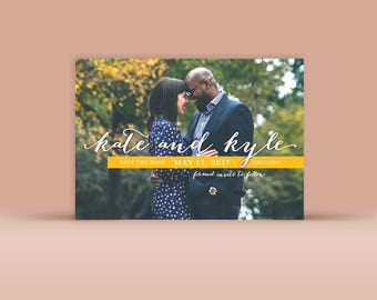 Save the Date No. 8 - Wedding Announcement