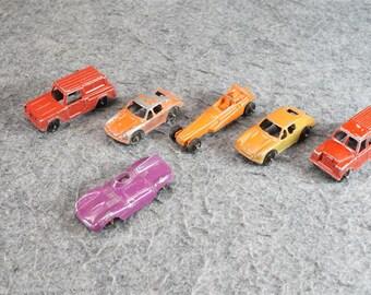 Vintage Tootsietoy Diecast Cars Set Of 6