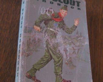 Vintage 1961 Boy Scout Handbook for Boy Scouts of America 478 pages