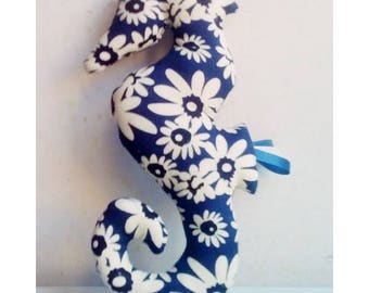 Decoration / Doudou hippocampus flowers