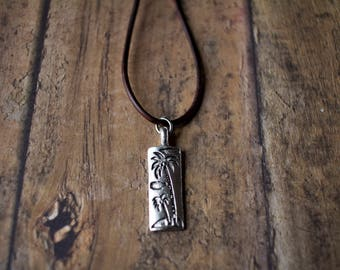 Men's Surfer Necklace. Surfer Necklace - Men's  Hippie Jewelry - Men's Hippie Necklace