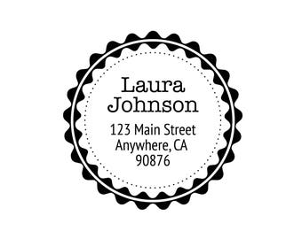 "1.5"" Name & Address Label RS003"