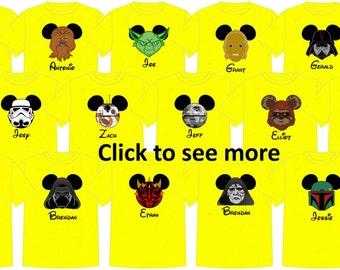 Disney Shirt STAR WARS Disney Vacation Group Shirts