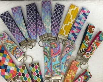 Quilted Key Fobs