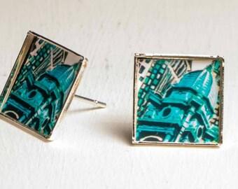 Mini earring square