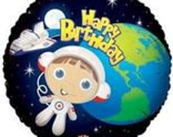 Astronaut Balloon, Birthday Party, Space, Space Party, Rocket, Rocketship, Outerspace party, Space Shuttle