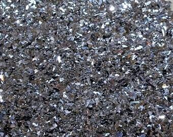 German Glass Glitter - Chunky Silver - #70 Grit
