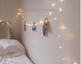 wall lights bedroom. Room Decor  Tapestry Lights Dorm Lighting Hanging Night Light Fairy Bedroom Home Living