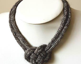 Crochet Celtic Heart Knot