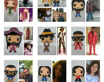Custom Funko Pop Figure Male or Female; Front of Box Decorated Only *Please Read Item Description For Instructions and Details**