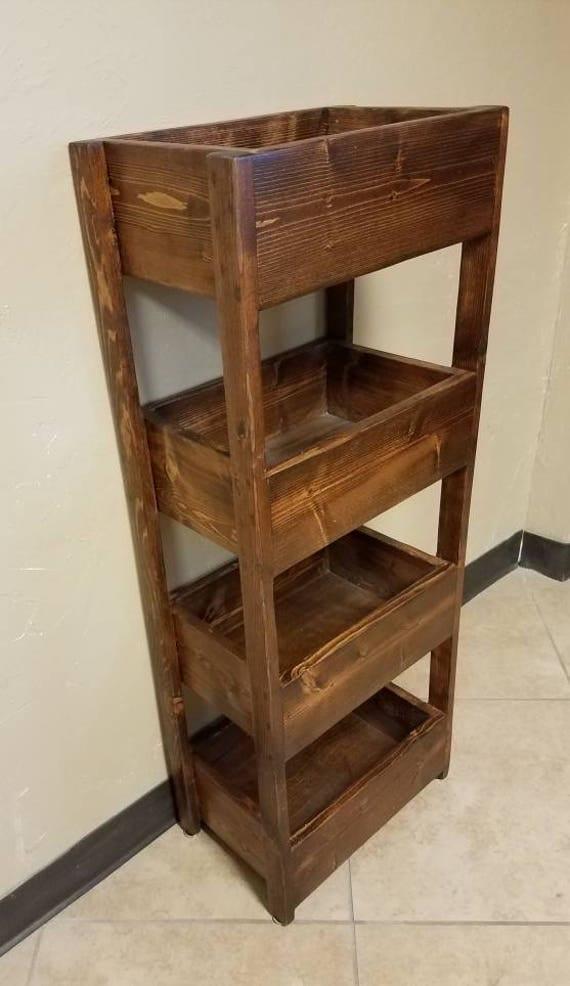 Kitchen storage bins farmhouse storage bin reclaimed wood