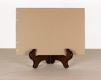 Kraft Guestbook, Wedding Guestbook, Lay Flat Guest Book, Plain Guestbook, Blank Sketchbook, Craft Journal, Art Journal, Custom Guestbook