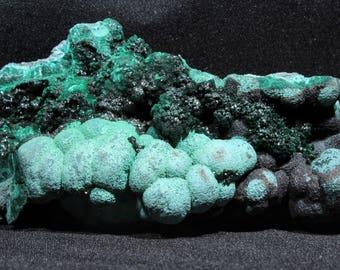 Malachite Chrysocolla - Lubumbashi, Congo