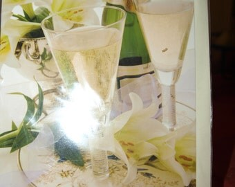 Champagne and Lilies  General Card