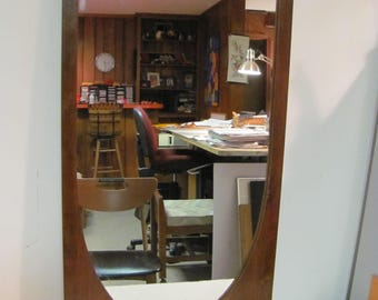Mid Century Modern Brasilia Dresser Mirror By Broyhill