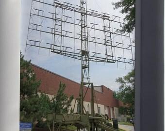 Canvas 24x36; Scr-270 Radar Antenna
