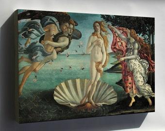 Canvas 24x36; Birth Of Venus, By Sandro Botticelli C. 1485–1486
