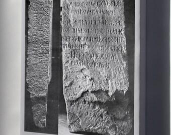 Canvas 16x24; Kensington Runestone