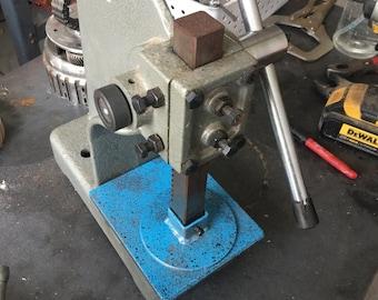 Arbor press round pressor foot