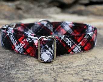 Plaid Dog Collar | Pet Collar | Male Dog Collar | Large Dog Collar | Small Dog Collar | Dog Collar | Gift for Dog Lovers