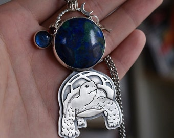 Turtles All the Way Down! Necklace