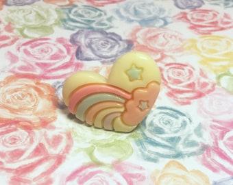 Heart Cloud Ring
