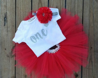 One Year Girls Birthday Outfit, 1 Year Old Birthday Girl Outfit, One Year Old Girls Outfit, 1 Year Birthday Dress, 1 Year Old Girls Tutu