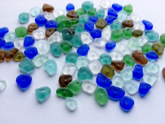 Bulk Sea Glass With Holes